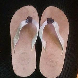 Naot flip flop sandals